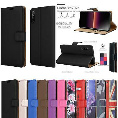 AU9.51 • Buy For Sony Xperia L4 1 10 II 5 L1 L2 L3 Plus Leather Wallet Stand Phone Case Cover