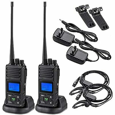 $ CDN329.54 • Buy 2 Way Radio 5 Watt Long Range, 20 Channels Programmable Walkie Hand-held UHF Ham