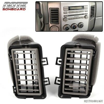 $29.63 • Buy FOR NISSAN 2004-2006 TITAN ARMADA Front Inner Right & Left Dash Air Vent Grille