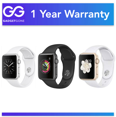 $ CDN201.21 • Buy Apple Watch Series 3 - 38MM & 42MM - Aluminum & Stainless Steel - All Colors