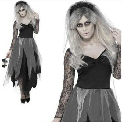 Zombie Bride Halloween Costume Size XL (16-18) • 9£