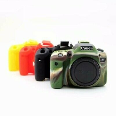 For Canon EOS 77D 90D Camera Bag Soft Silicone Case Camera Protective Body Cover • 18.55£