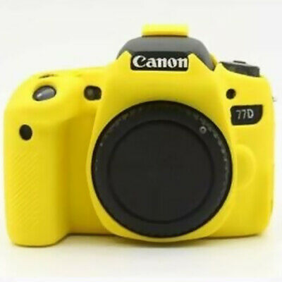For Canon EOS 6D 5D2 5D3 5D4 77D 90D 800D Camera Silicone Body Cover Case Skin • 18.97£