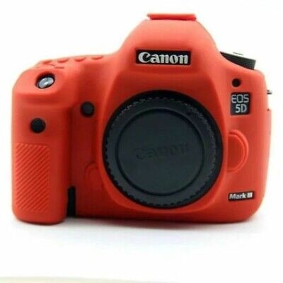 Silicone Body Bag Cover Case Skin For Canon EOS 5D Mark III 5D3/5DS/5DR 5D4 750D • 18.96£