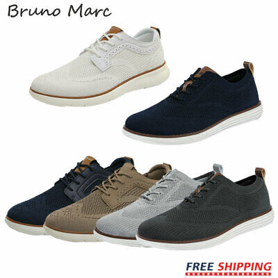 $28.89 • Buy Bruno Marc Men's Fashion Sneakers Lace Up Walking Shoes Breathable Athletic Shoe
