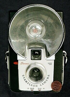 Old Fashioned Camera With Flash Lens -  Large Blank Greeting Card W/ TRACKING • 2.83£