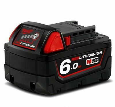AU118.88 • Buy Genuine MILWAUKEE M18B6 18V M18 6.0AH RED LITHIUM ION BATTERY 18 VOLT LI-ION