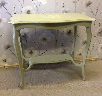 £35 • Buy Vintage Hall/Lamp Table. Lovingly Upcycled. Painted With Annie Sloan Chalk Paint