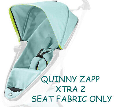 Quinny Zapp Xtra 2 Blue Pastel Cover And Hood ( Fabric Only No Frame ) • 69.99£