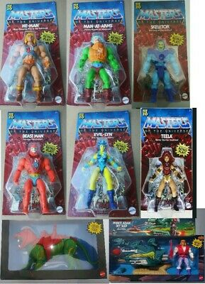 $425.99 • Buy Masters Of The Universe Origins W/ Sky Sled & Prince Adam AND Battle Cat, 8 Pcs