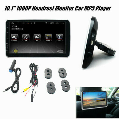 $ CDN218.61 • Buy 10.1  1080P Car MP5 Player Rear Seat Screen Headrest Monitor Wifi Android 9.1