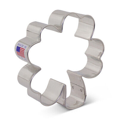 Four Leaf Clover Or Shamrock Tin Cookie Cutter / Clay Cutter • 2.14£