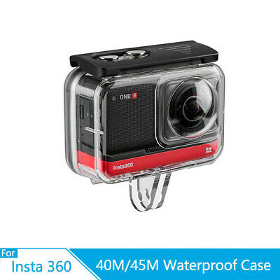 TELESIN 40M Waterproof Housing Case Underwater Fit For Insta360 ONE R AY • 21.59£