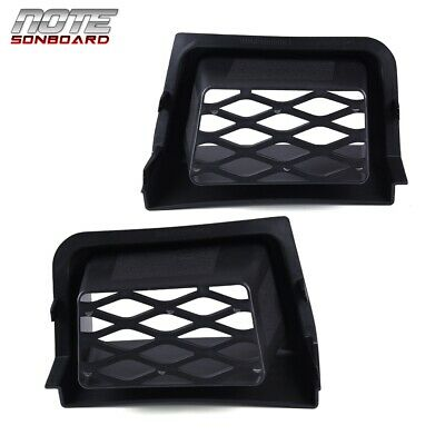 $35.33 • Buy Fit For 03-07 Silverado 1500 Front Bumper Brake Air Ducts Ss Style Pair Black