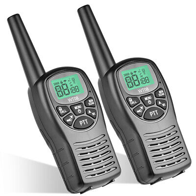 $ CDN43.03 • Buy 2x WT-08 Walkie Talkie Long Range 2 Way Radio For Hotel Supermarket Warehouse