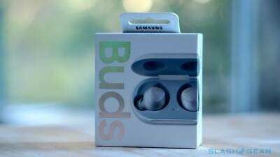 View Details **Limited** Silver Samsung Galaxy Wireless Earbuds 2019 ,wear, Music, Headphones • 60.00£