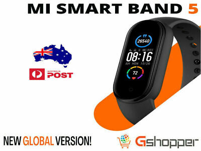AU54.99 • Buy Xiaomi Mi Band 5 Smart AMOLED Screen Fitness Tracker Global Version