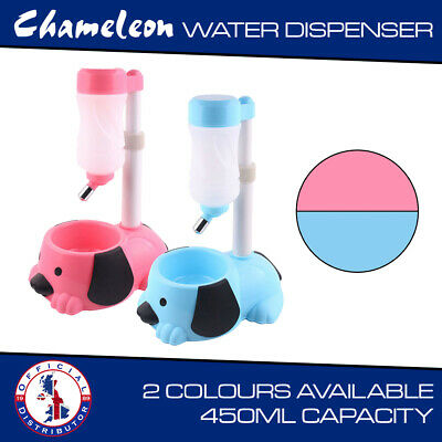 Automatic Pet Drink Dispenser Dog Cat Rabbit Water Bowl Dish • 11.21£