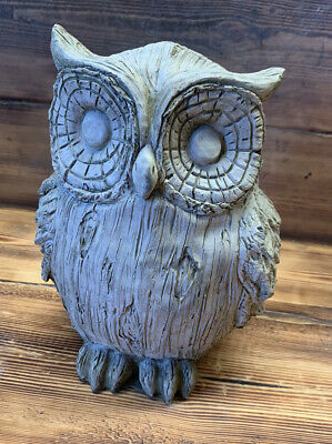 Stone Garden Large Owl Statue Gift Ornament  • 33.95£
