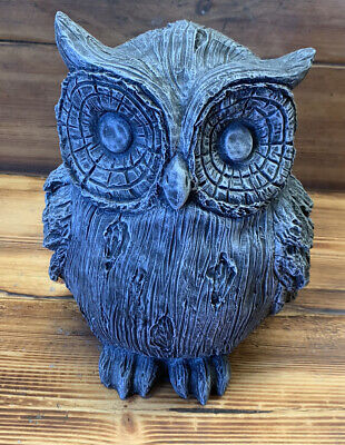 Stone Garden Large Owl Statue Gift Ornament  • 35.95£