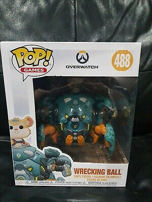 AU59.46 • Buy Overwatch Wreckingball 6  Pop! Vinyl Figure  #488