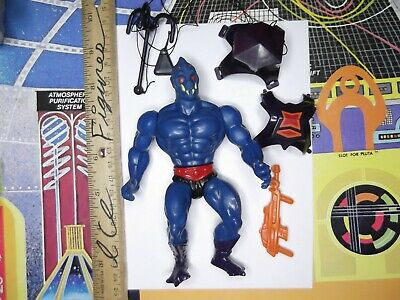 $110 • Buy Vintage Masters Of The Universe He-man Figure,lot, WEBSTOR COMPLETE,SMALL HEAD