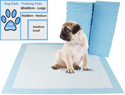 £9.99 • Buy Heavy Duty Large Puppy Pet Training Wee Pee Toilet Pads Pad Floor Mats Cat Dog