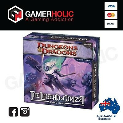 AU100 • Buy Dungeons & Dragons Legend Of Drizzt Board Game Brand New