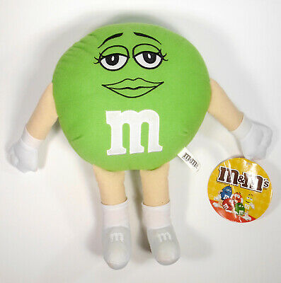 $6.50 • Buy M & M Candies 10  Green Lady Plush Toy With Tags CLEARANCE!