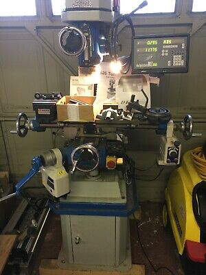 Chester 626 Turret Mill Machine Align Power Feed Vertex Vice DRO 2axis RRP £3800 • 2,300£
