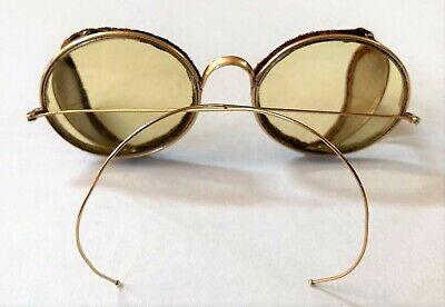 $199.99 • Buy Antique PEERLESS 1930's Folding Motorcycle Goggles, Sunglasses W/ Vintage Case