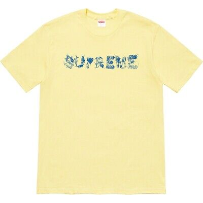 $ CDN94.63 • Buy SUPREME T-Shirt   MORPH    Large YELLOW 100% Authentic MADE IN USA