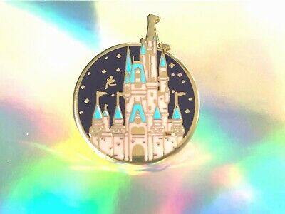 Cinderella Castle Pin Badge Fairytale Princess Kingdom Of Magic With Gift Box • 7.99£