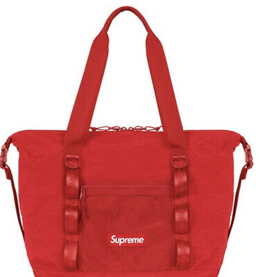 $ CDN293.25 • Buy Supreme Zip Tote Bag Red Os Fw20 (in Hand) Brand New 100% Authentic, Fast Ship