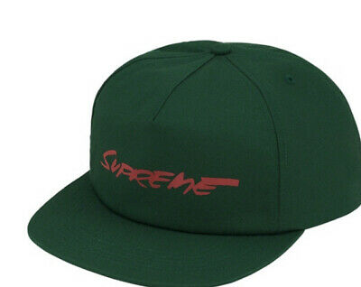 $ CDN113.65 • Buy Supreme Futura Logo 5-panel Hat Dark Green Fw20 Week 1(in Hand Authentic New.
