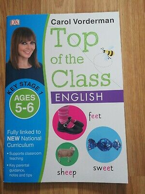Carol Vorderman-KS1- 9books- 5-7yrs-New-Maths/English/Science/Spelling- With Bag • 16£