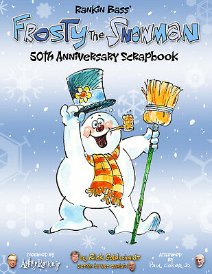 $59.99 • Buy Rankin/Bass' Frosty The Snowman 50th Anniversary Scrapbook Hardcover 1st Print