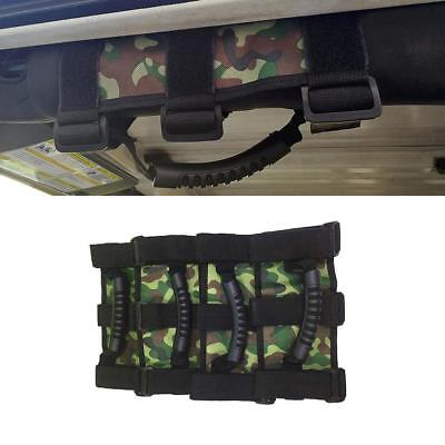 AU35.09 • Buy 4pcs Camo Grab Handles Grip Handle For Jeep Wrangler YJ TJ JK JKU Sports Sahara