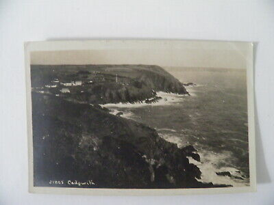 £4.99 • Buy Cornwall Cadgwith RP Postcard By Haluke Undivided Back Unposted