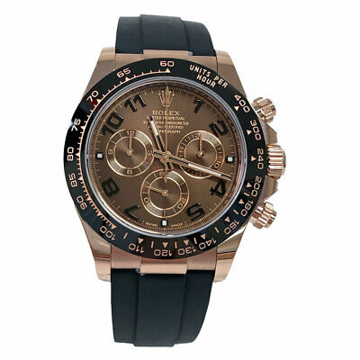 $ CDN44311.31 • Buy Rolex Daytona Everose Rose Gold Ceramic Bezel Oysterflex 116515 40mm