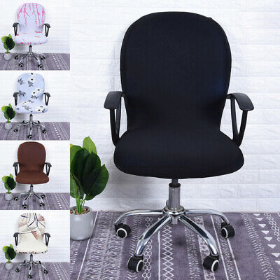 AU6.99 • Buy Swivel Computer Chair Cover Stretch Remove Office Armchair Slipcover Seat Cover
