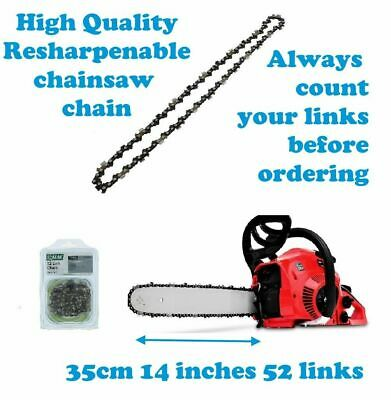 £12.95 • Buy POWER DEVIL PDG4025A Chainsaw Chain 35cm 14 Inch 52 Link