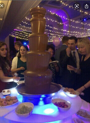 £40 • Buy Chocolate Fountain To Hire - London & SE - Party Hire Specialists