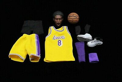 $119.99 • Buy 1/6 Scale NBA Lakers 8 Kobe Bryant Head Sculpt With Jersey Set & Shoes@ENTERBAY