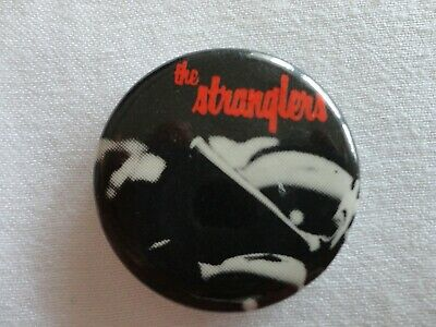 The Stranglers Promo Pin Badge Button Guaranteed Authentic Vintage! • 6.63£