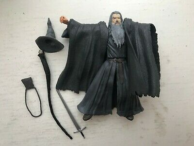 Lord Of The Rings Gandalf Grey Action Figure Toy Biz Series Fellowship • 13.99£