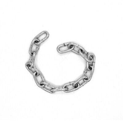 4 Mm Hot Dipped Galvanised Steel Chain Heavy Duty Durable Security Links • 10.25£