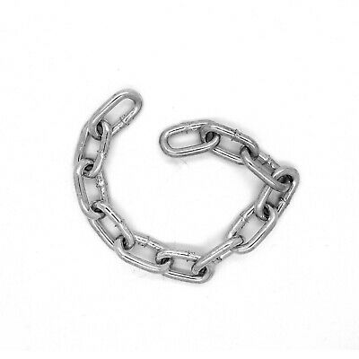 5 Mm Hot Dipped Galvanised Steel Chain Heavy Duty Durable Security Links • 5.15£