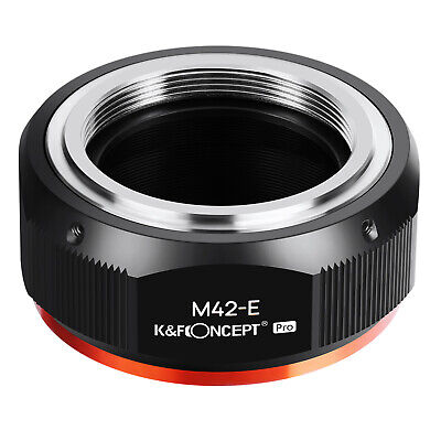 $27.99 • Buy K&F Concept Adapter Pro For M42 Screw Lens To Sony E Mount Camera NEX A7R2 A73