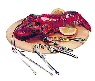 AU18.99 • Buy New AVANTI Marinara Seafood Tool 8 Piece Set Crackers Forks Lobster Oyster Crab
